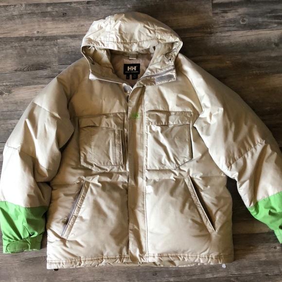 Helly Hansen Tan Snow Ski Jacket